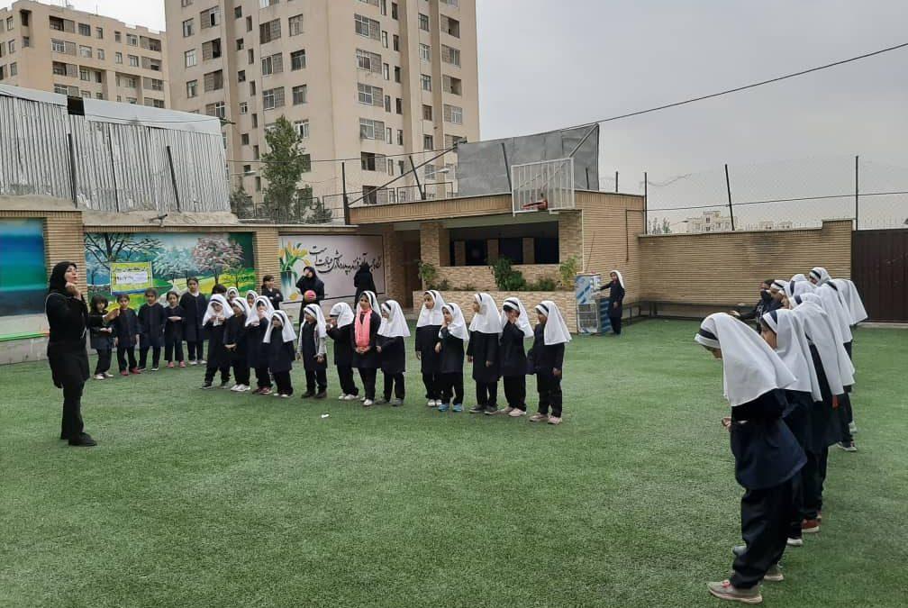 اجرای بازیهای دهگانه داژبال