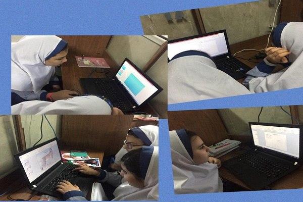 کلاس کامپیوتر دبستان مبتکرنوین